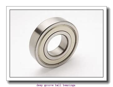 85 mm x 130 mm x 22 mm  KBC 6017ZZ deep groove ball bearings