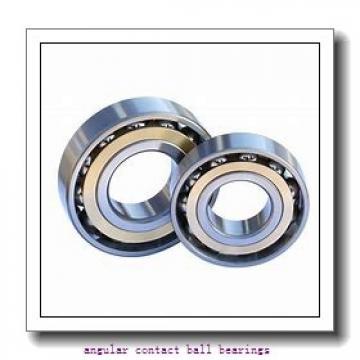 90,000 mm x 190,000 mm x 43,000 mm  SNR QJ318N2MA angular contact ball bearings