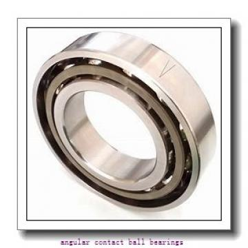 43 mm x 83 mm x 42,5 mm  NSK 43BWK03D angular contact ball bearings