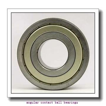 35 mm x 72 mm x 26,988 mm  FBJ 5207 angular contact ball bearings