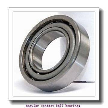 90 mm x 140 mm x 24 mm  SKF 7018 ACB/P4AL angular contact ball bearings