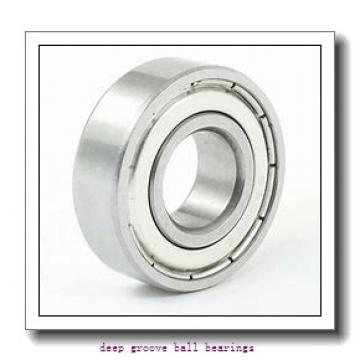 90 mm x 190 mm x 43 mm  NKE 6318-2Z deep groove ball bearings