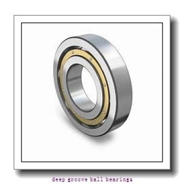 60 mm x 110 mm x 22 mm  SKF 6212-2RS1 deep groove ball bearings