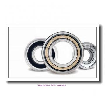 17 mm x 62 mm x 17,000 mm  Fersa F18020 deep groove ball bearings