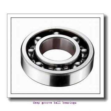15 mm x 42 mm x 13 mm  NACHI 6302 deep groove ball bearings