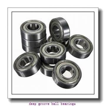12 mm x 18 mm x 4 mm  SKF W 61701-2RS1 deep groove ball bearings