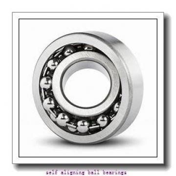 40 mm x 80 mm x 23 mm  ZEN 2208 self aligning ball bearings