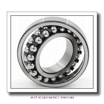 8 mm x 16 mm x 8 mm  ISB GE 08 BBL self aligning ball bearings