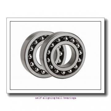 25 mm x 62 mm x 17 mm  KOYO 1305 self aligning ball bearings