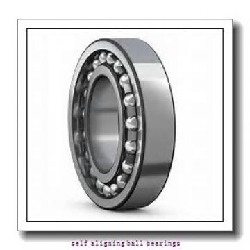 20 mm x 47 mm x 18 mm  NSK 2204 K self aligning ball bearings