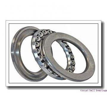 ISO 53222U+U222 thrust ball bearings