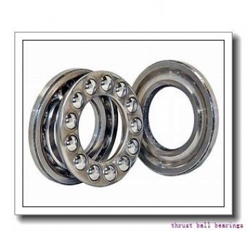 55 mm x 125 mm x 16 mm  FAG 54314 thrust ball bearings