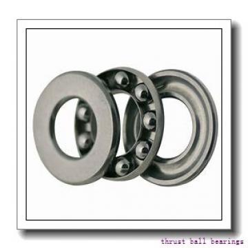 90 mm x 190 mm x 30 mm  NSK 54418X thrust ball bearings