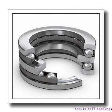 45 mm x 100 mm x 20 mm  SKF BSD 45100 CG-2RZ thrust ball bearings