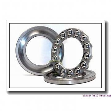 130 mm x 280 mm x 58 mm  SKF NU 326 ECJ thrust ball bearings