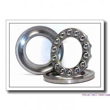 60 mm x 110 mm x 28 mm  SKF NUP 2212 ECM thrust ball bearings