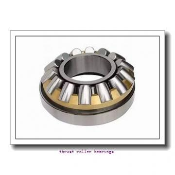 INA XU 08 0120 thrust roller bearings