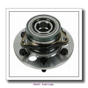 Toyana CX543 wheel bearings