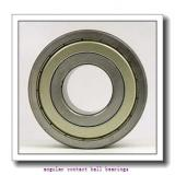 40 mm x 74 mm x 36 mm  SKF BAH-0060A angular contact ball bearings