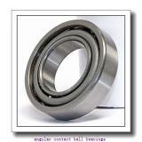 25 mm x 47 mm x 12 mm  FAG B7005-C-T-P4S angular contact ball bearings