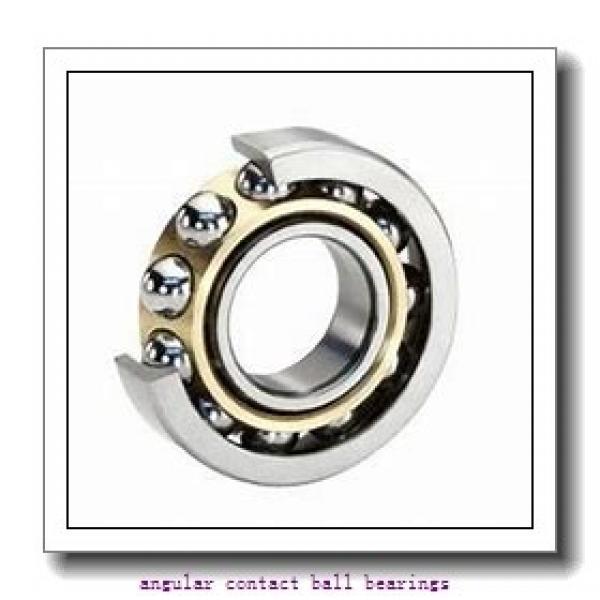 70 mm x 110 mm x 20 mm  NACHI 7014CDT angular contact ball bearings #2 image