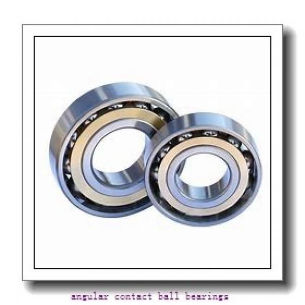 85 mm x 180 mm x 41 mm  SIGMA QJ 317 N2 angular contact ball bearings #1 image