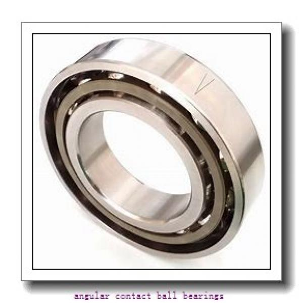 43 mm x 83 mm x 42,5 mm  NSK 43BWK03D angular contact ball bearings #2 image