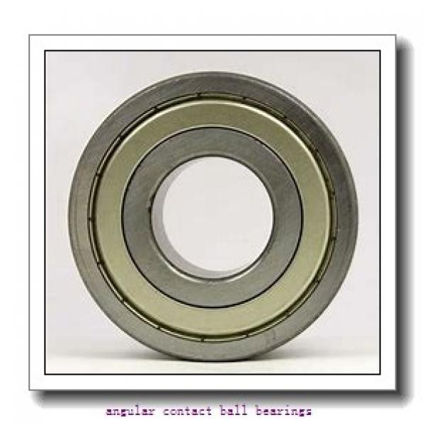 43 mm x 83 mm x 42,5 mm  NSK 43BWK03D angular contact ball bearings #1 image