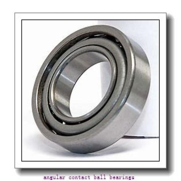 25 mm x 47 mm x 12 mm  FAG B7005-C-T-P4S angular contact ball bearings #1 image