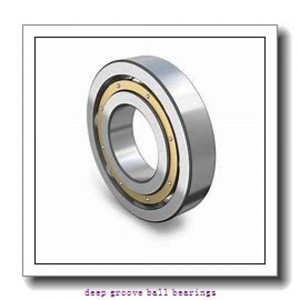 25 mm x 47 mm x 12 mm  KOYO 6005NR deep groove ball bearings #2 image
