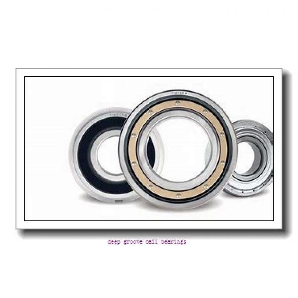 12,7 mm x 47 mm x 30,96 mm  Timken ER08 deep groove ball bearings #1 image