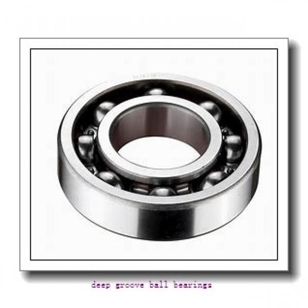 30 mm x 42 mm x 7 mm  NACHI 6806NKE deep groove ball bearings #1 image