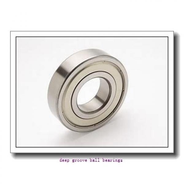 12,7 mm x 47 mm x 30,96 mm  Timken ER08 deep groove ball bearings #2 image